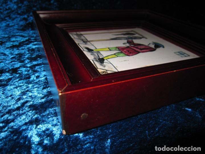 Antigüedades: Antiguo Azulejo de oficios - Foto 21 - 225174761