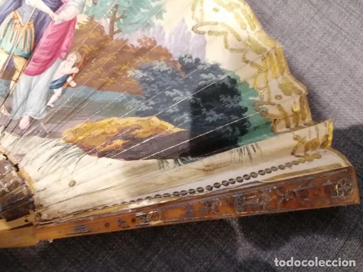 Antigüedades: Abanico finales del XVIII principios del XIX. - Foto 2 - 225208598