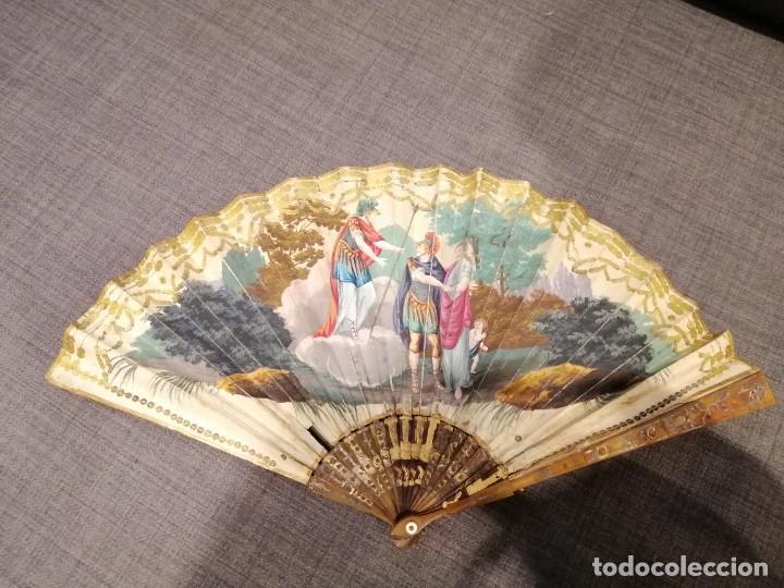 Antigüedades: Abanico finales del XVIII principios del XIX. - Foto 3 - 225208598