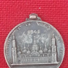 Antiquités: ZARAGOZA - XIX CENTENARIO DE LA VIRGEN DEL PILAR - 1940. Lote 225270540