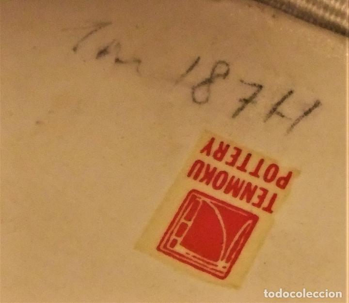 Antigüedades: JARRÓN DE CERÁMICA TENMOKU POTTERY - Foto 7 - 225346315