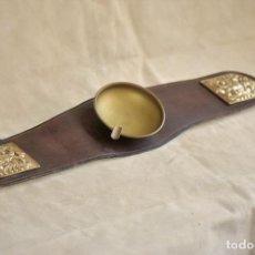 Antigüedades: CENICERO DE SOFA DE 48 CM DE LARGO POR 8 DE ANCHO. Lote 225461685