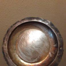 Antigüedades: PLATO GRANDE O BANDEJA REDONDA ALPACA, ENVIO INCLUIDO PRECIO. Lote 225468885