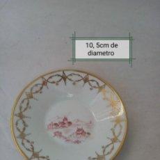 Antigüedades: BONITO PLATO DE PORCELANA PINTADO A MANO MARCA (LIMOGES). Lote 225484400