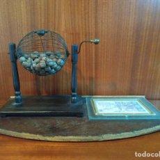 Antigüedades: BONBO DE LOTERIA. Lote 225490372