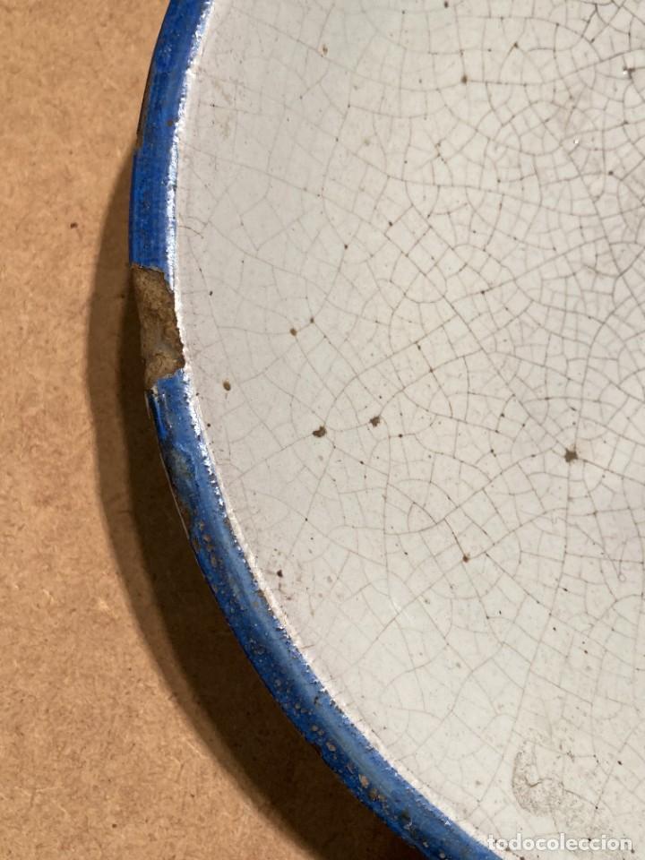 Antigüedades: Ocho platos de cerámica antigua - Foto 3 - 225499235
