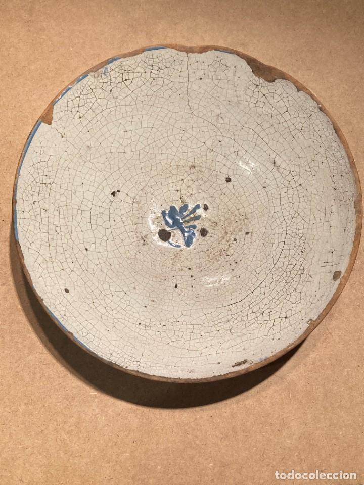 Antigüedades: Ocho platos de cerámica antigua - Foto 9 - 225499235