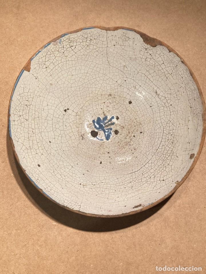 Antigüedades: Ocho platos de cerámica antigua - Foto 10 - 225499235