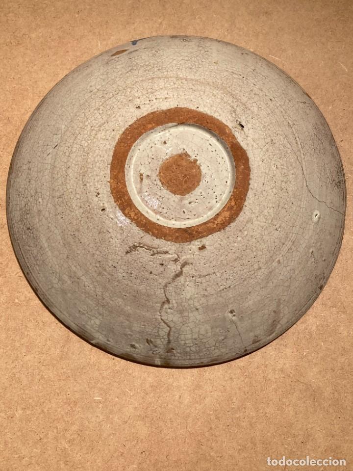 Antigüedades: Ocho platos de cerámica antigua - Foto 12 - 225499235