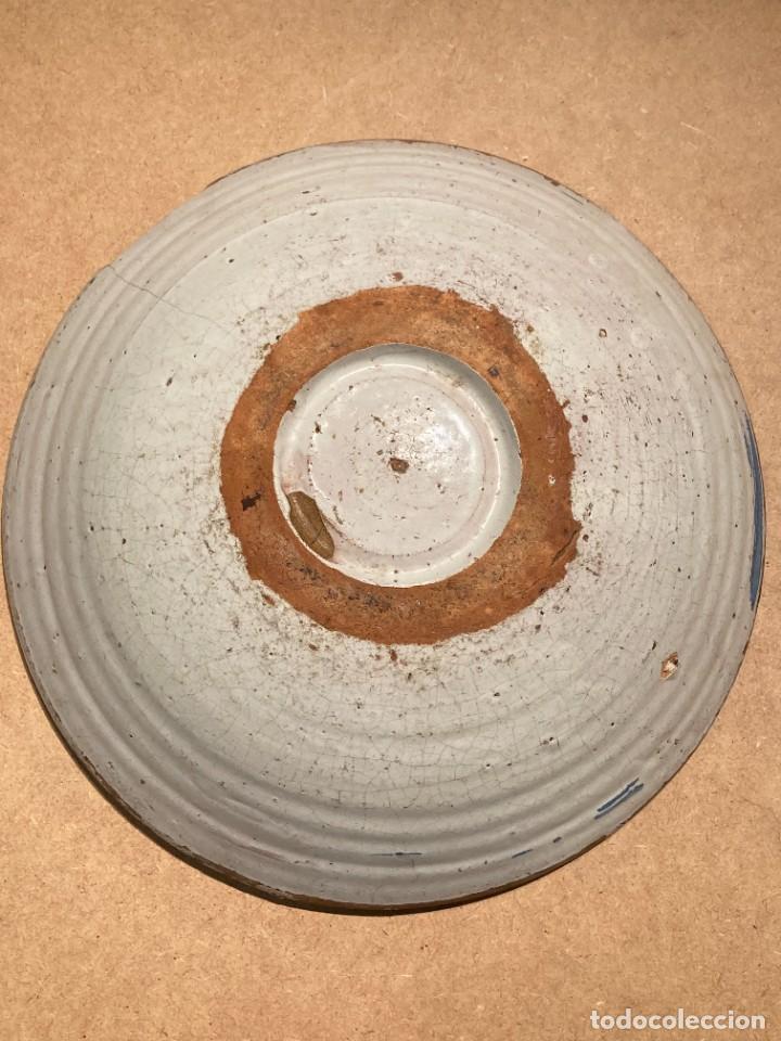Antigüedades: Ocho platos de cerámica antigua - Foto 19 - 225499235