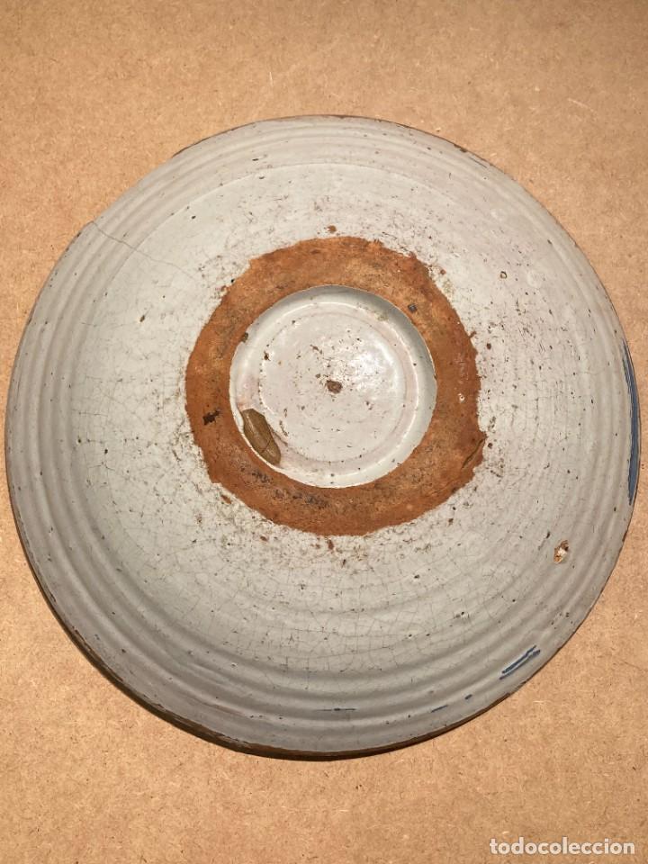 Antigüedades: Ocho platos de cerámica antigua - Foto 20 - 225499235
