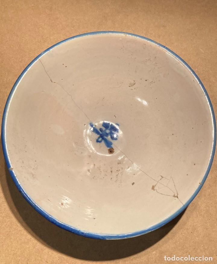 Antigüedades: Ocho platos de cerámica antigua - Foto 21 - 225499235