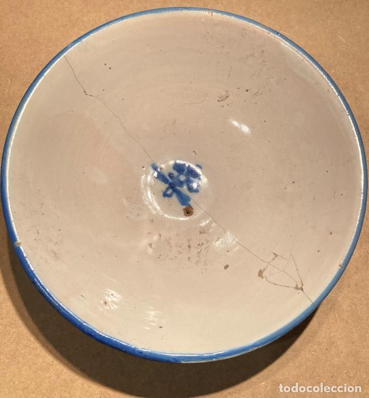 Antigüedades: Ocho platos de cerámica antigua - Foto 22 - 225499235