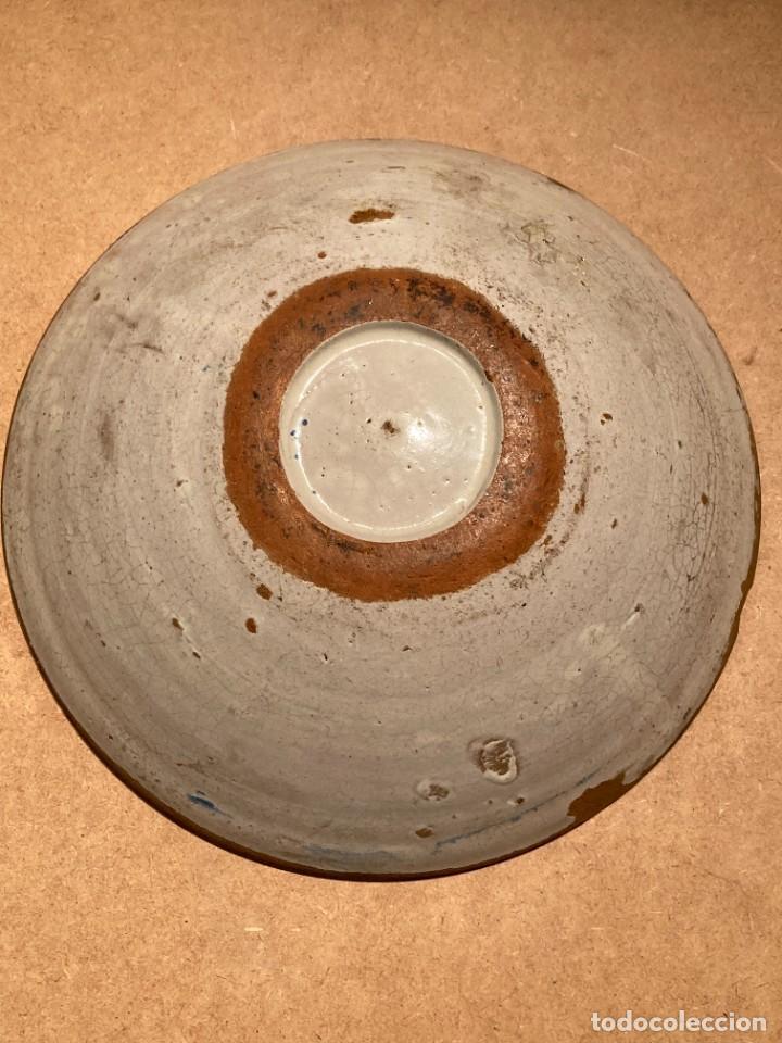 Antigüedades: Ocho platos de cerámica antigua - Foto 26 - 225499235