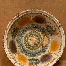 Antiquités: LEBRILLO DE CERÁMICA DE TRIANA. Lote 225500520