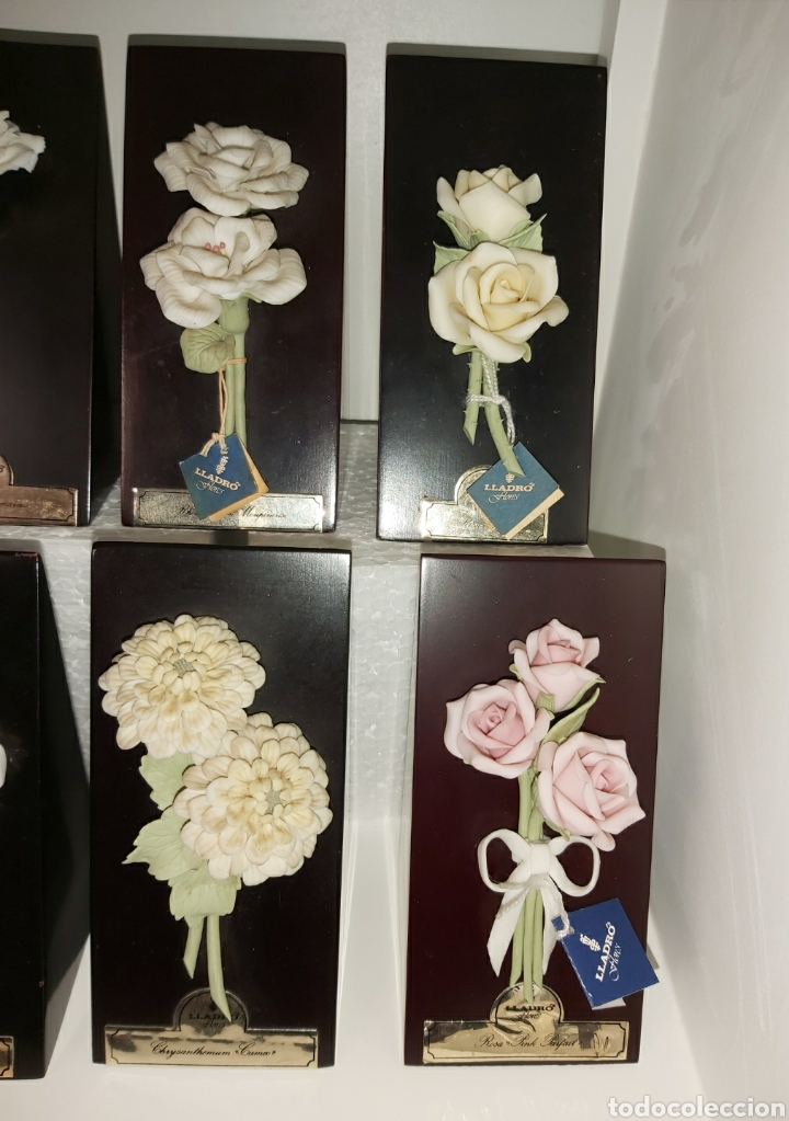 Antigüedades: Colección completa Flores de Lladró - Foto 3 - 225535450
