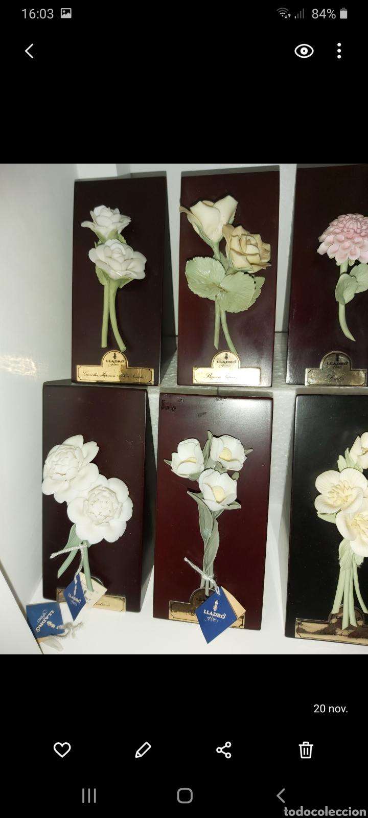 Antigüedades: Colección completa Flores de Lladró - Foto 5 - 225535450
