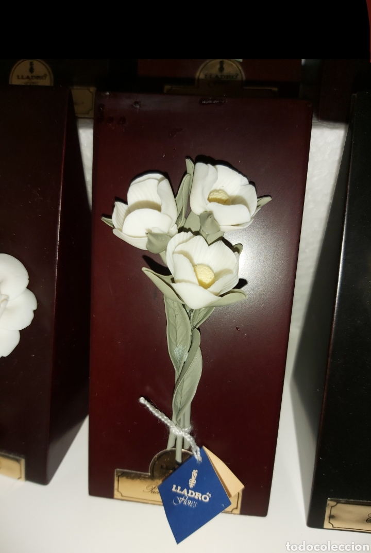 Antigüedades: Colección completa Flores de Lladró - Foto 11 - 225535450