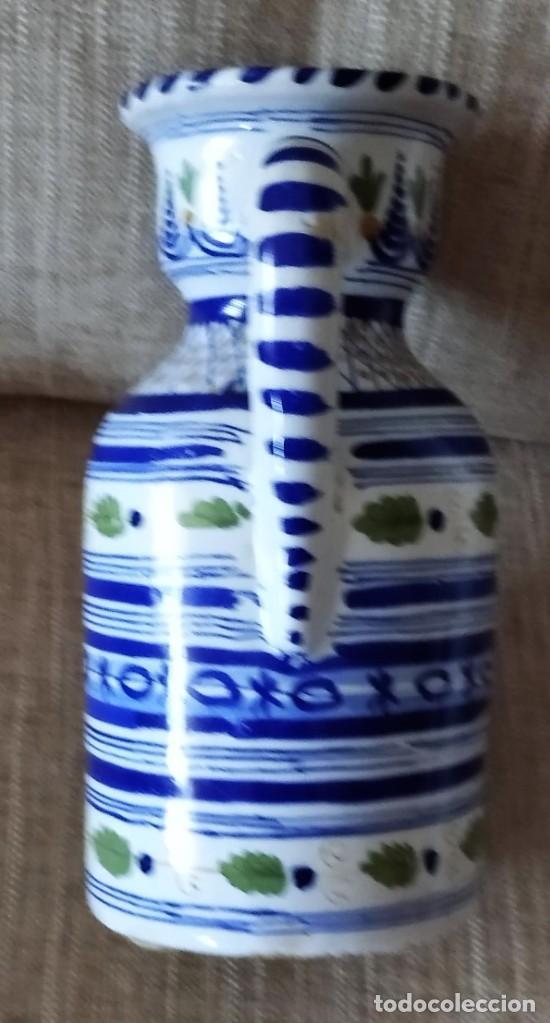 Antigüedades: ANTIGUA JARRA DE CERAMICA DE PUENTE DEL ARZOBISPO - Foto 3 - 225545150