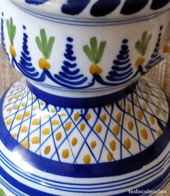 Antigüedades: ANTIGUA JARRA DE CERAMICA DE PUENTE DEL ARZOBISPO - Foto 4 - 225545150