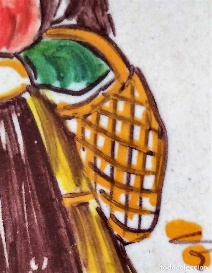 Antigüedades: PLATO DE CERAMICA DE PUENTE DEL ARZOBISPO - Foto 3 - 225547925