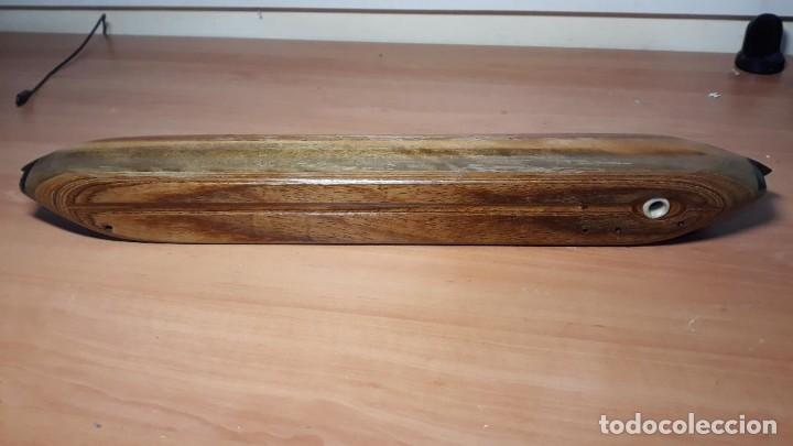 Antigüedades: Lanzadera para telar de alfombras, nueva sin estrenar - Foto 6 - 224802871