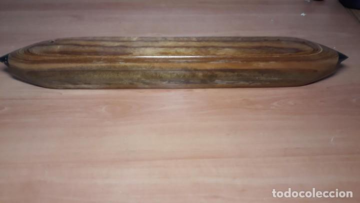 Antigüedades: Lanzadera para telar de alfombras, nueva sin estrenar - Foto 7 - 224802871