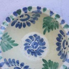 Antigüedades: ANTIGUO LEBRILLO TIPO FAJALAUZA. Lote 225720185
