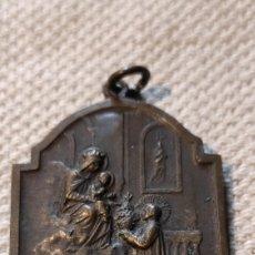 Antigüedades: MEDALLA BEATO MARCELINO CHAMPAGNAT COLEGIO SAN JOSE. MARISTAS.. Lote 225733355