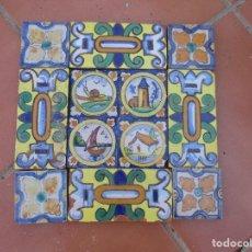 Antigüedades: AZULEJOS TRIANA. Lote 225753580