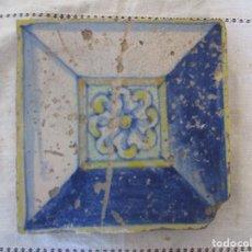 Antigüedades: AZULEJO VALENCIANO SIGLO XVI. Lote 225755520
