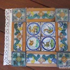 Antigüedades: AZULEJOS ANTIGUOS PINTADOS (TRIANA). Lote 225758401