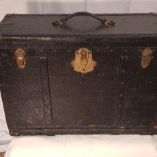 Antigüedades: BAUL - MALETA FINALES SIGLO XVIII. Lote 225954822