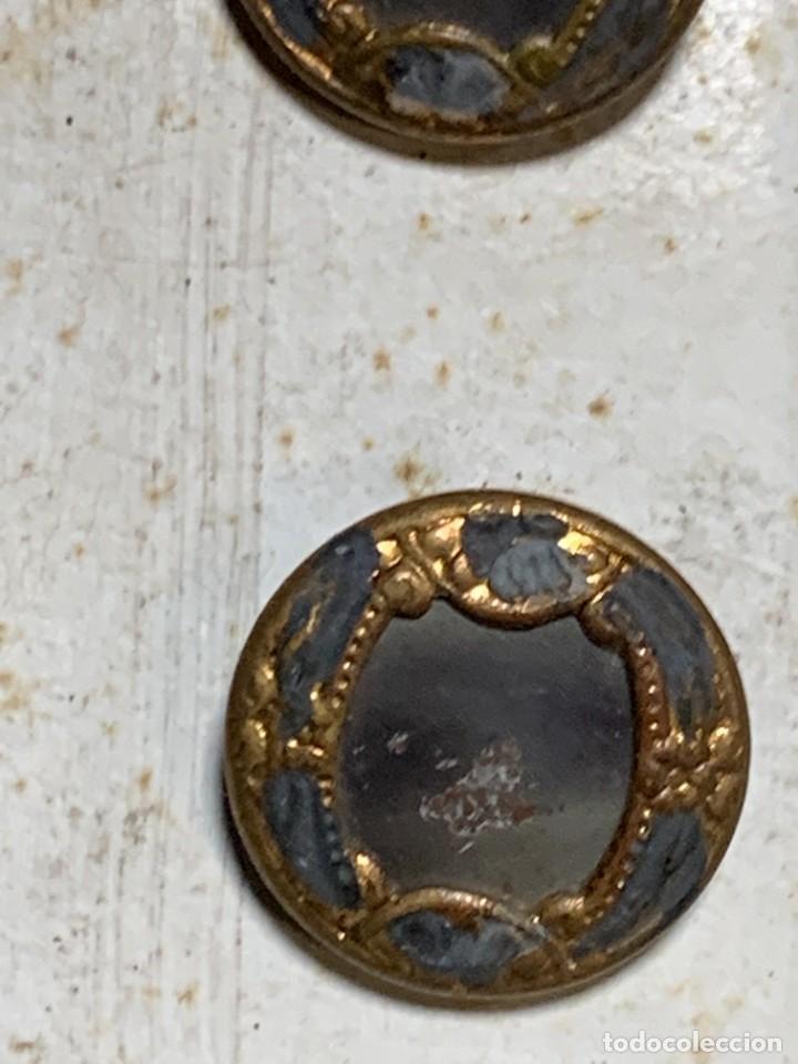 Antigüedades: 12 botones ppio s xx nouveaute paris depose 12mm - Foto 4 - 225961102