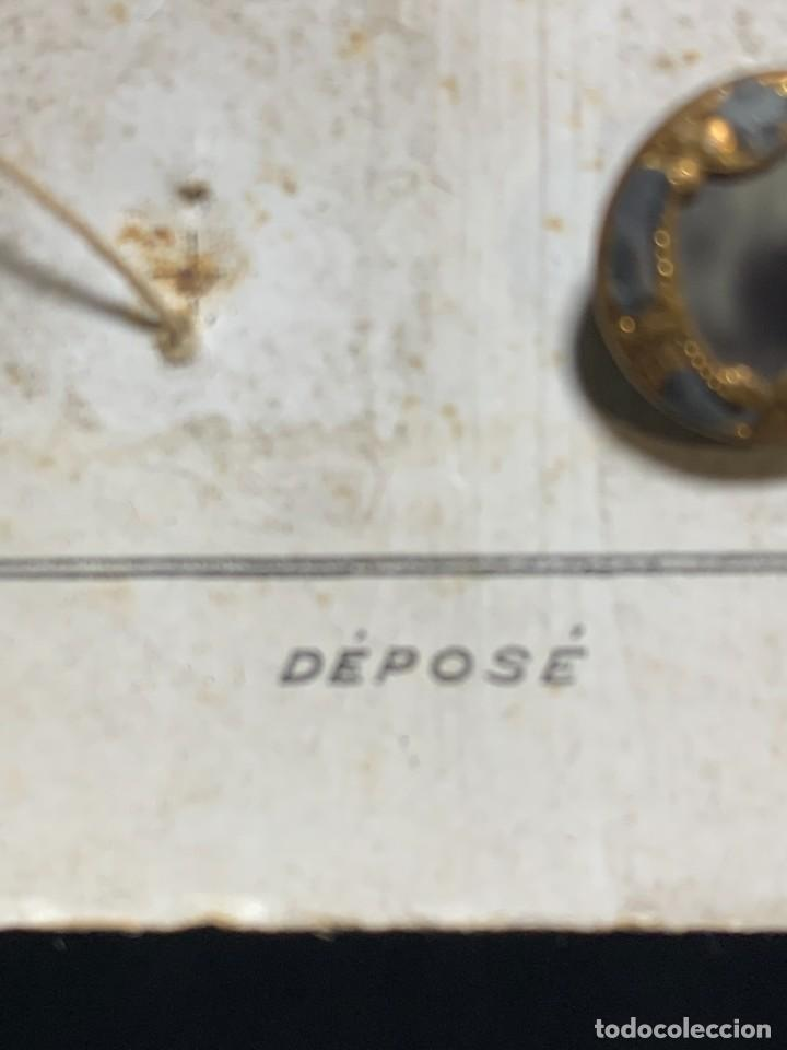 Antigüedades: 12 botones ppio s xx nouveaute paris depose 12mm - Foto 6 - 225961102