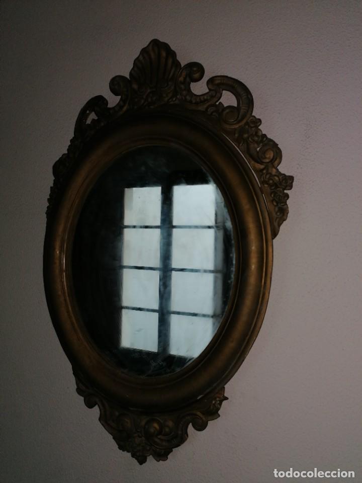 Antigüedades: espejo antiguo - Foto 7 - 225963293
