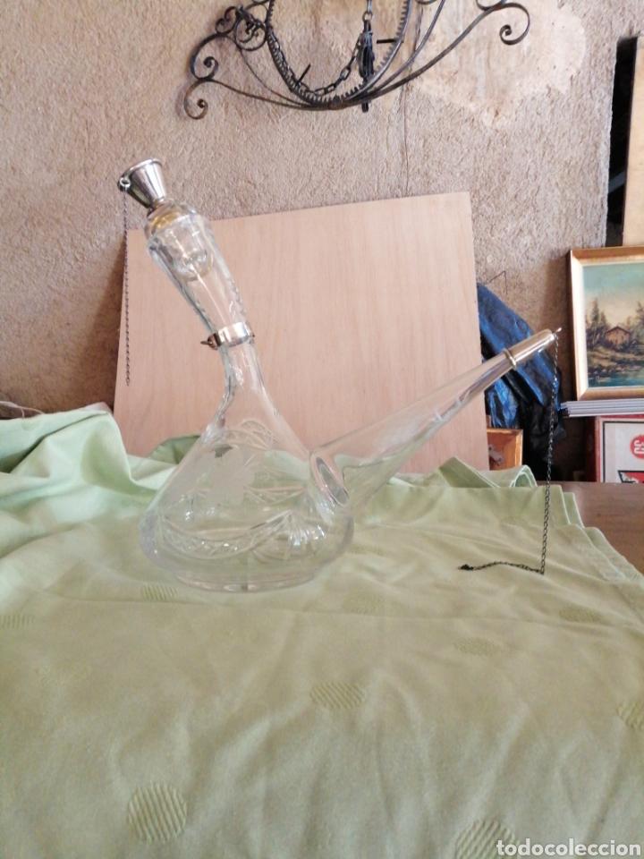 PORRON DE CRISTAL TALLADO (Antigüedades - Cristal y Vidrio - Catalán)