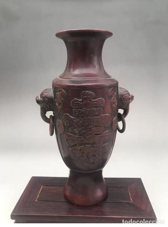 Antigüedades: Florero jarrón antiguo japonés años 20 , muy elegante - Foto 5 - 226052248