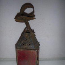 Antigüedades: ANTIGUO FAROL LAMPARA. Lote 226064530