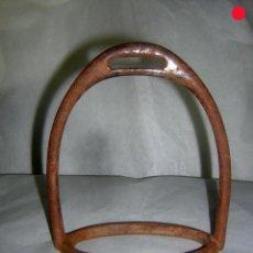 Antigüedades: ESTRIBO ANTIGUO DE MONTAR PARA ADORNO. Lote 226103015