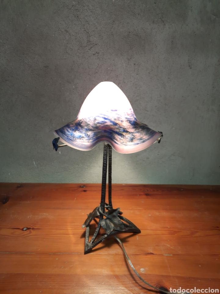 Antigüedades: Lámpara seta de mesa modernista - Foto 2 - 226125180