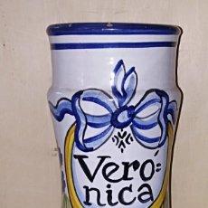 Antigüedades: SMS- TARRO / ALBARELO FARMACIA. VERÒNICA. COLECCION RICOLA. Lote 226125595