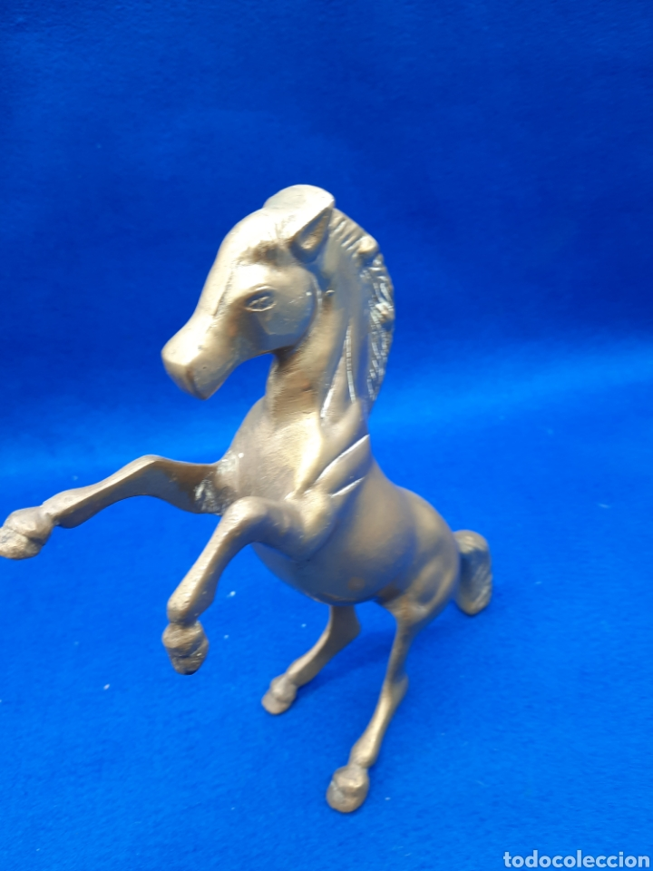 Antigüedades: Viejo caballo de bronce - Foto 4 - 226129625