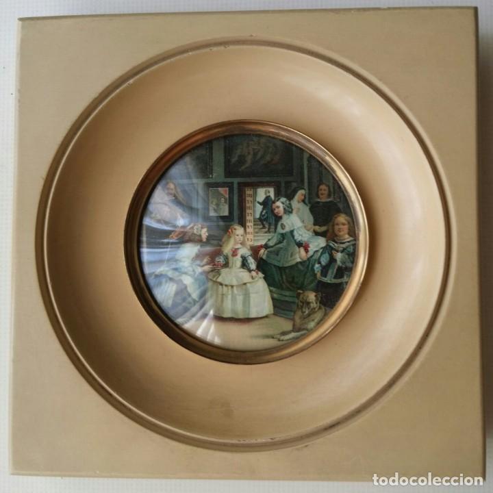 MARCO DE FOTOS DE MADERA PORTARRETRATO, PORTAFOTOS; SIMIL DE MARFIL. (Antigüedades - Hogar y Decoración - Marcos Antiguos)