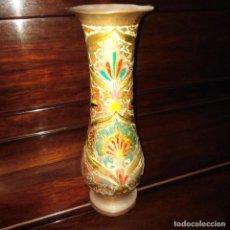 Antigüedades: ANTIGUO JARRÓN ORIENTAL ESMALTADO, CLOISONNE. Lote 226178542