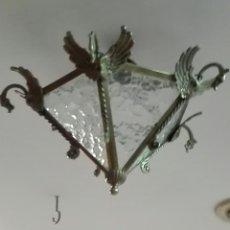 Antigüedades: FAROL DE ENTRADA O DE HOLL. Lote 288016328
