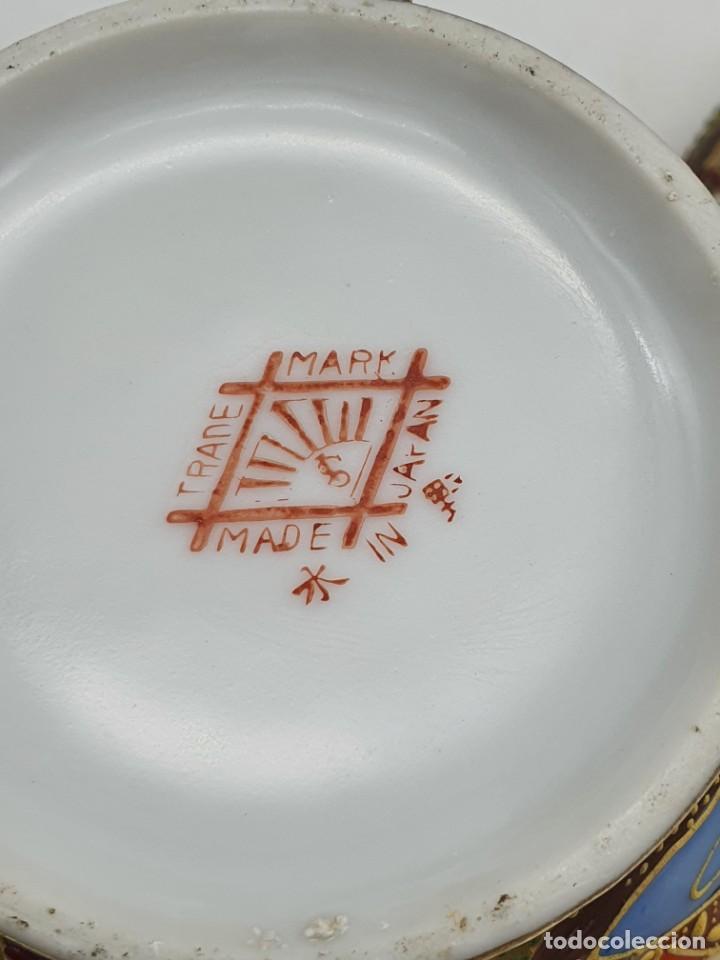 Antigüedades: ESPETACULAR PORCELANA JAPONESA ( 3 TETERAS, 5 TAZAS SIN PLATITO ) VER FOTOS - Foto 11 - 226292405