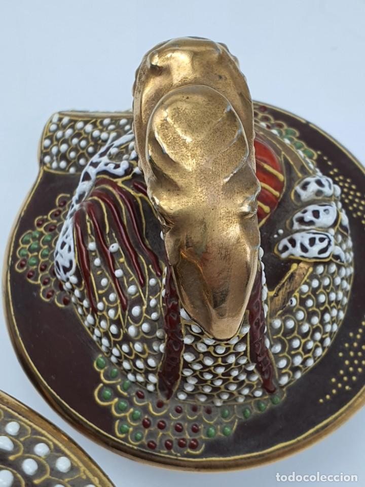 Antigüedades: ESPETACULAR PORCELANA JAPONESA ( 3 TETERAS, 5 TAZAS SIN PLATITO ) VER FOTOS - Foto 23 - 226292405