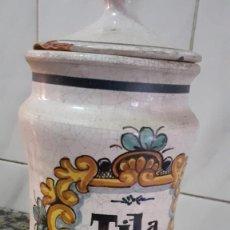 Antigüedades: ANTIGUO BOTE/TARRO DE FARMACIA. Lote 226357295