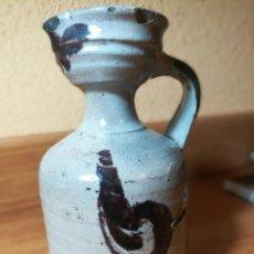 Antigüedades: ÚNICA Y EXCLUSIVA JARRA ACEITERAO VINATERA DE ÚBEDA, SIGLO XVIII. Lote 226367905